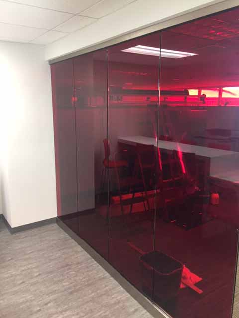 Cardinal Red Window Film