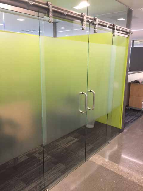 Office Decorative Window Film