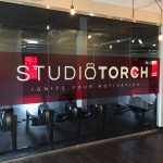 Studio Torch uses custom window film