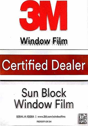 3M Authorized commercial dealer